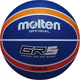 MOLTEN Bola Basket #5 Size 5 [BGR5] - Navy/Orange - Bola Basket